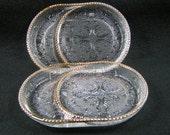 Set of 2 Harp Ashtray/Coasters