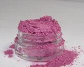Mineral Eye Shadow Electric Bubblegum shimmery mica powder 20 gram jar sifter