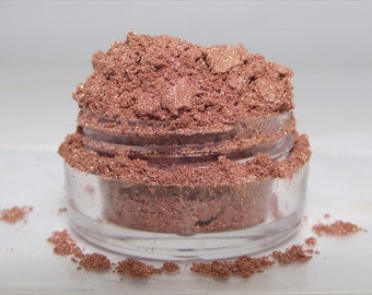 Mineral Eye Shadow Bronze Gold shimmery mica powder shadow 5gram sifter