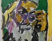Litvinovsky - Rabbi s - 70s Art Exhibit Poster - Lithograph
