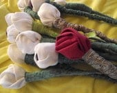 Linen Roses, Long-Stemmed, Simply Elegant, You Pick Colors, Stem Length Etc.