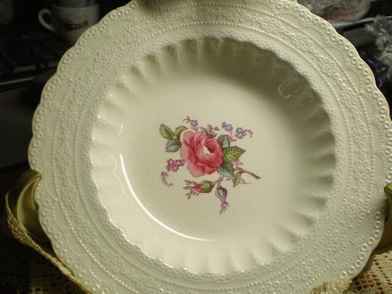 Copeland Spode Billingsley  Rose Shallow Bowl
