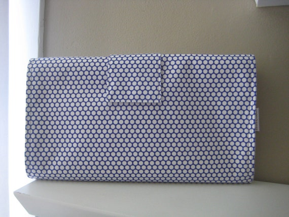 Changing Pad in Queen Street Periwinkle