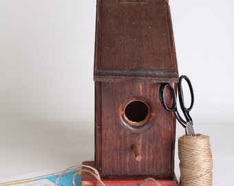 Vintage Wooden bird house