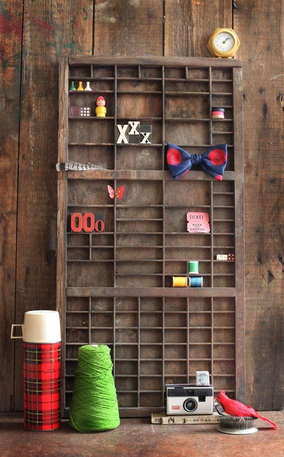 V I N T A G E hamilton letterpress drawer