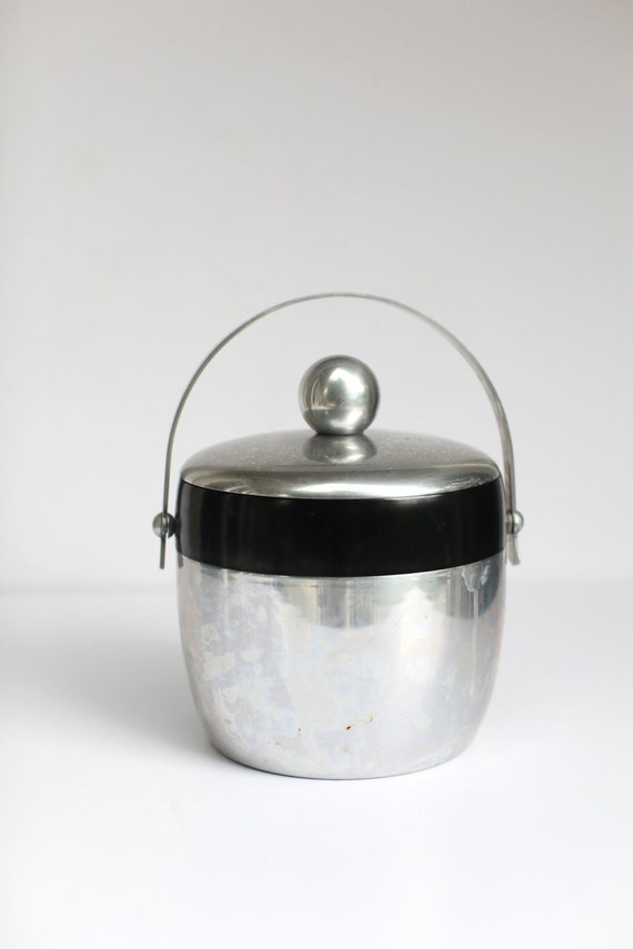 Mid century Kromex ice bucket