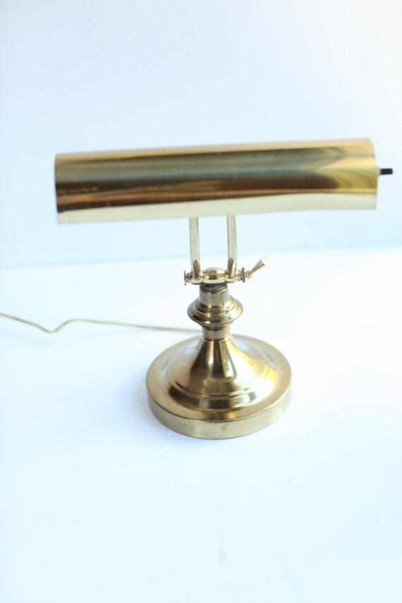 Vintage Adjustable brass lamp