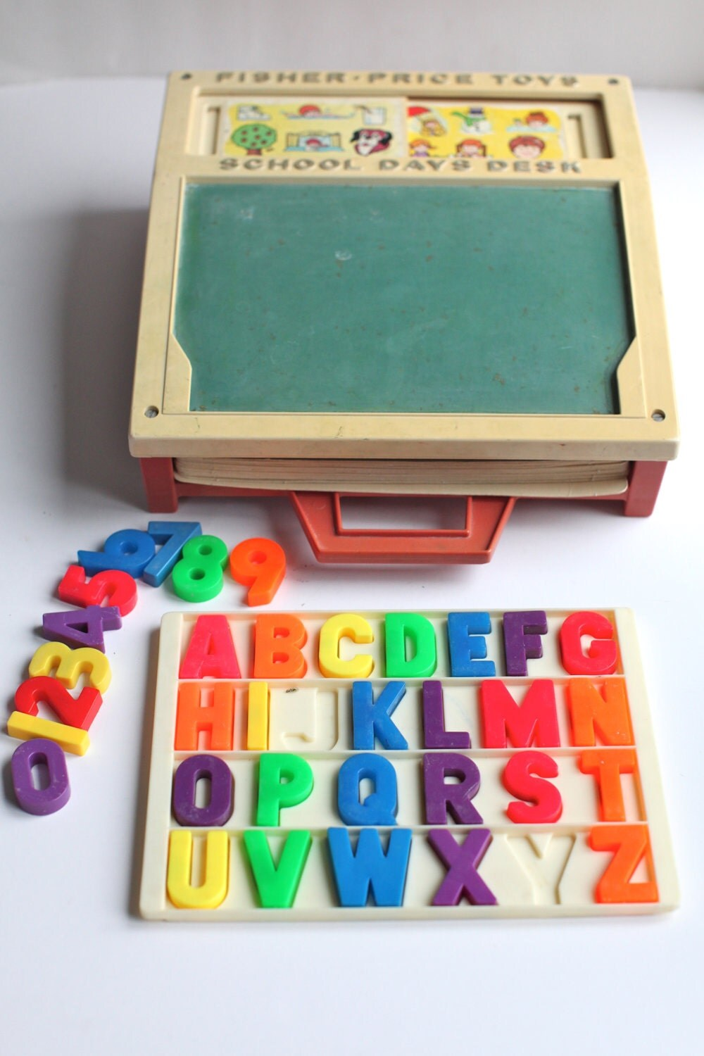 Classic Fisher Price Toys : Fisher price school days desk