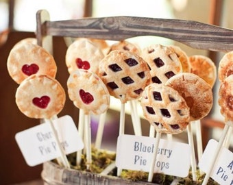 Blackberry Pie Pops (12) Gift Set