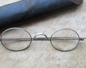 Vintage Wire Glasses with Case