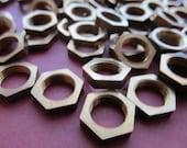 Vintage Brass Nuts