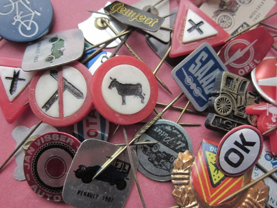 Vintage Travel Pins