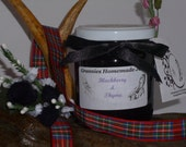 Theraputic Wild Scottish Fruit Jam Blackberry &Thyme