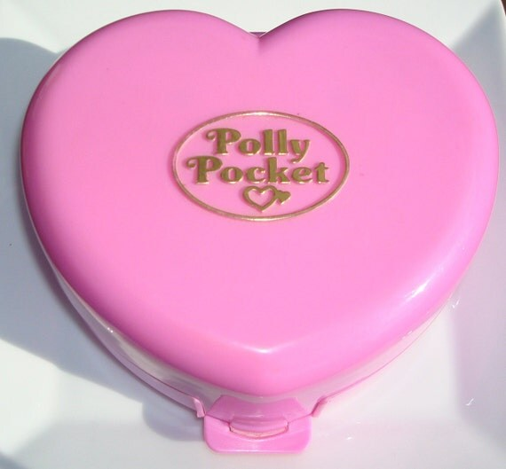 Polly Pocket: Light Up Castle - 1992, Complete