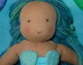 Little Mermaid Doll, made to order