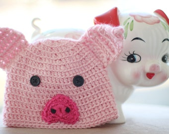 Pig Hat - Made to Order