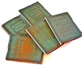 Antique Victorian Literature Pocket Book Collection