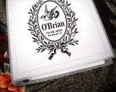 Wedding Planning Binder with Customized Classic Logo 3