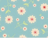 STORE CLOSING SALE Riley Blake Delighted Blue Floral Fat Quarter