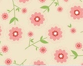 STORE CLOSING SALE Riley Blake Delighted Pink Floral 1 Fat Quarter