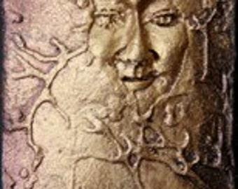 Emergence: Small Bronze Narrative Sculpture