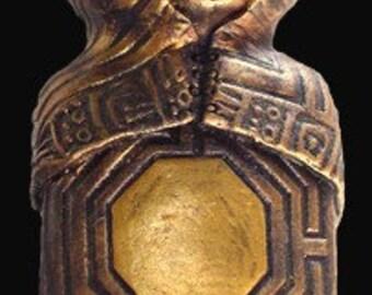 Healer Bronze Narrative Sculpture
