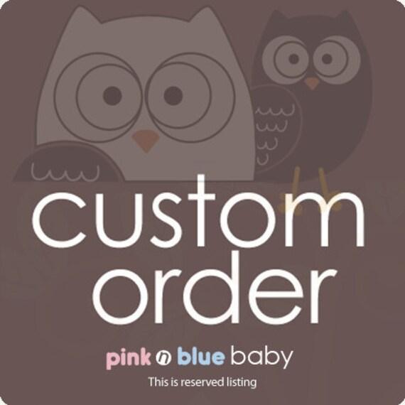 Custom Order for bethanyriva