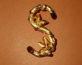 "Vintage Gold ""S"" Initial Pin by Sarah Coventry"
