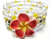 Sugar Skull Bracelet Itty Bitty Pretties Cuff