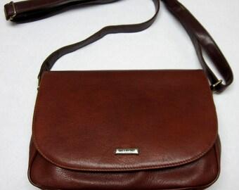 Vintage Valentino Italian Leather Handbag