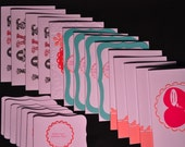 Reserved for Karmavore-Vegan Valentines Day Cards