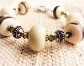 Gorgeous Lampwork Bracelet & Earrings