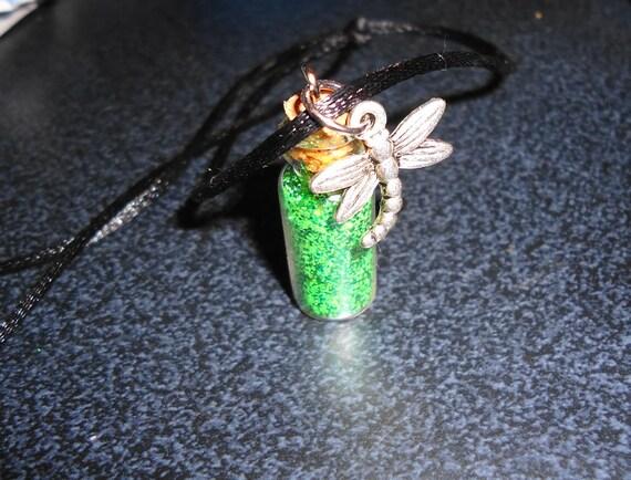 pixie dust vial pendant