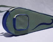 Tennis Bag Blue and Green