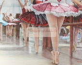 The ballet class signed limited edition giclee ballet print