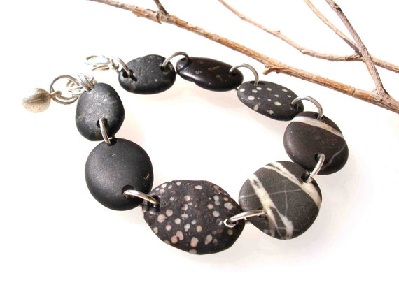 Beach Stone Bracelet - QOOVA by StoneAlone - Stone Jewelry