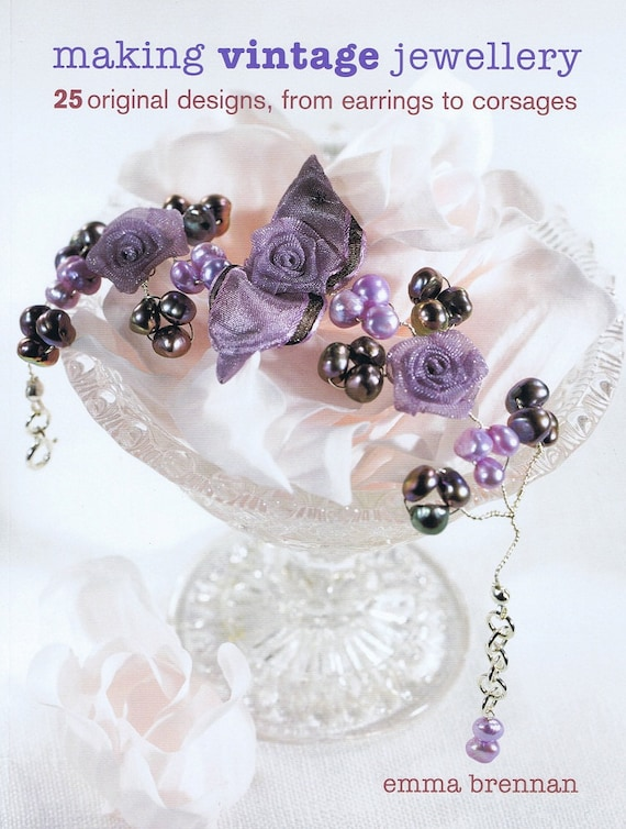 BOOK - signed copy of Making Vintage Jewellery by Emma Brennan