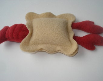 Lobster Ravioli Petite Dog Toy - Squeak Toy