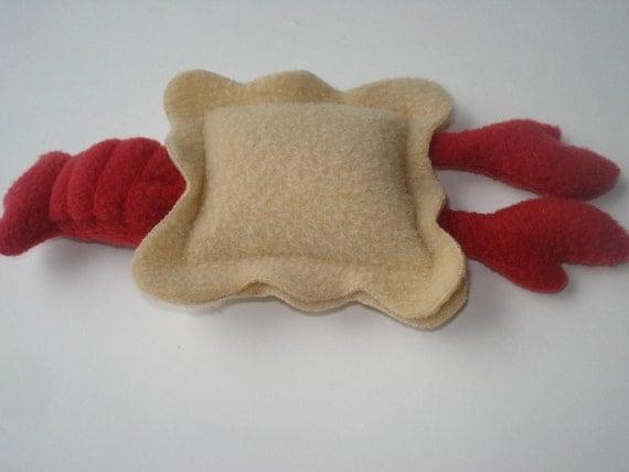 Lobster Ravioli Cat Toy - Catnip