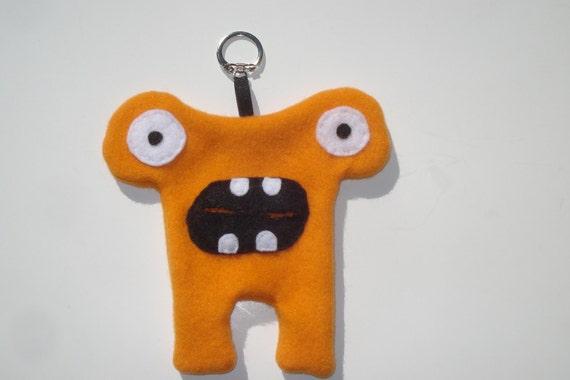 Herman Hammerhead Doggie Poo Bag Holder - Orange