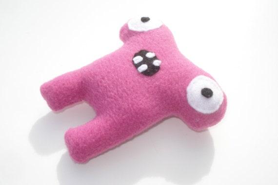 Herman Hammerhead Catnip Toy - Hot Pink