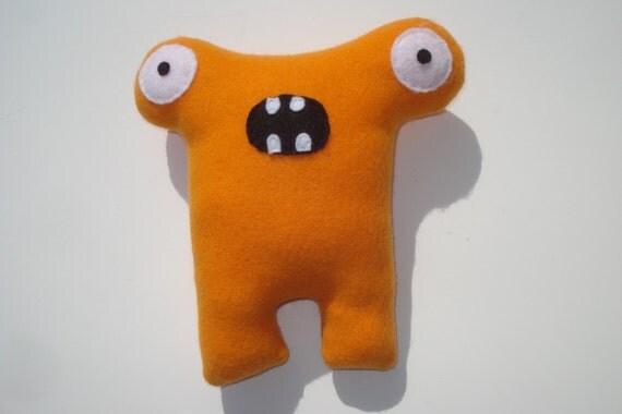 Herman Hammerhead - Squeaky Dog Toy - Orange