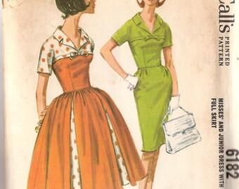 McCalls 1956 Dress Bust 31 1/2