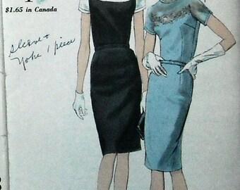VINTAGE VOGUE  Dress  pattern size 16 37 bust 41 hip