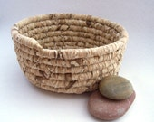 River Rock-Fabric Coiled Basket-Spring Sale