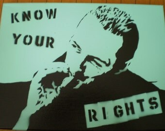 "Joe Strummer (The Clash) ""Know Your Rights"""