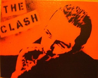 The Clash (Joe Strummer red)