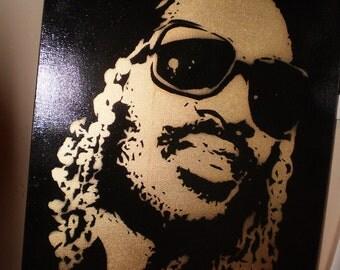 Stevie Wonder (gold)