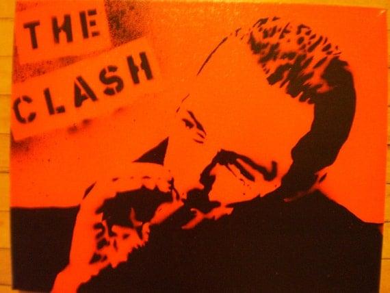 The Clash (Joe Strummer red)