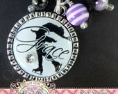 Personalized Silhouette FIGURE SKATER Necklace, Figure Skating, Ice Skater, Ice Skating Necklace, Dance, Jewelry by Once Upon a Sugar Tree